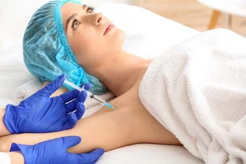 Botox-Behandlung bei Hyperhidrose